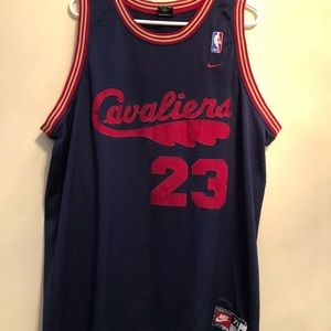 lowest price ba56c 69d06 Nike Lebron James Throwback Jersey